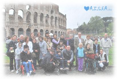 Il Meeting Nazionale delle Famiglie A.I.S.EA nel 2010, a Roma